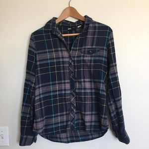 Urban Outfitters BDG Blue & Grey Flannel